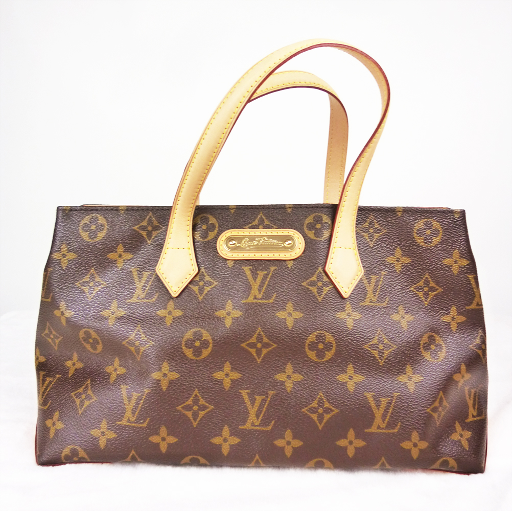 LOUIS VUITTON ルイヴィトン モノグラム ウィルシャーPM