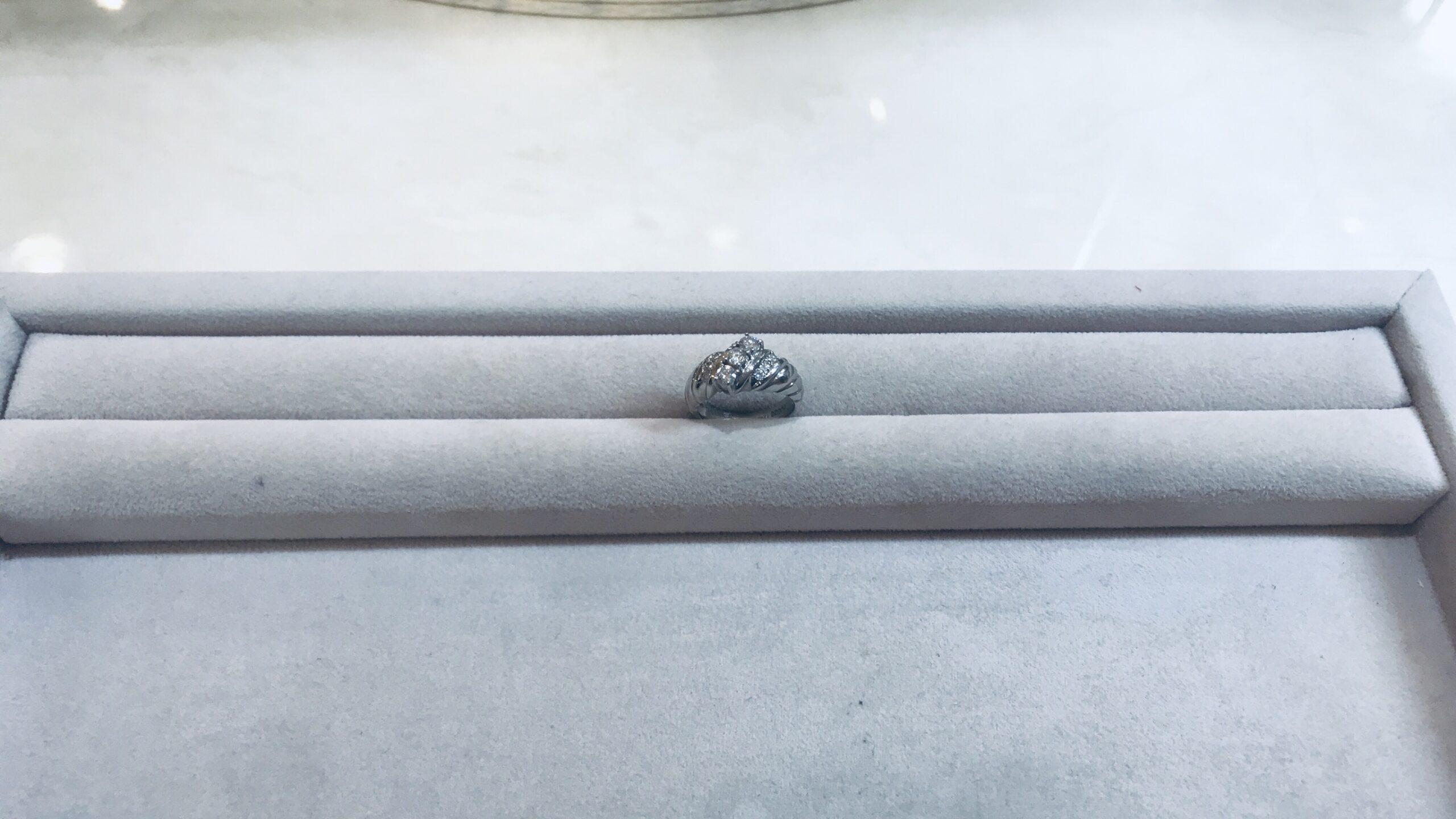 【買取速報】ダイヤモンド、指輪、PT900-2020-08-12