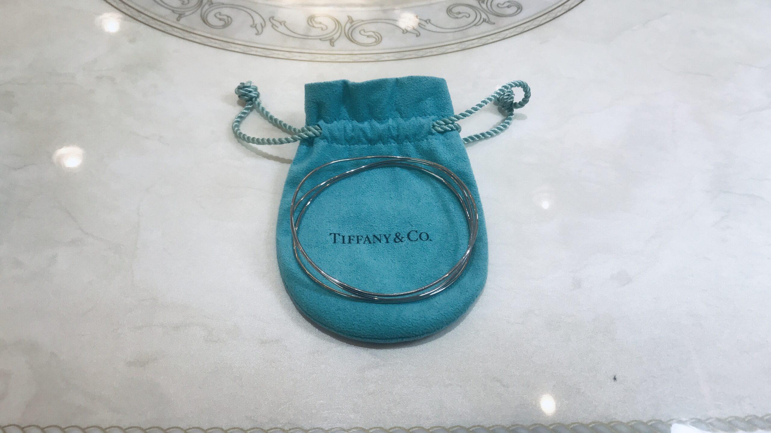 【買取速報】ブレスレット、750、Tiffany & Co.-2020-08-21