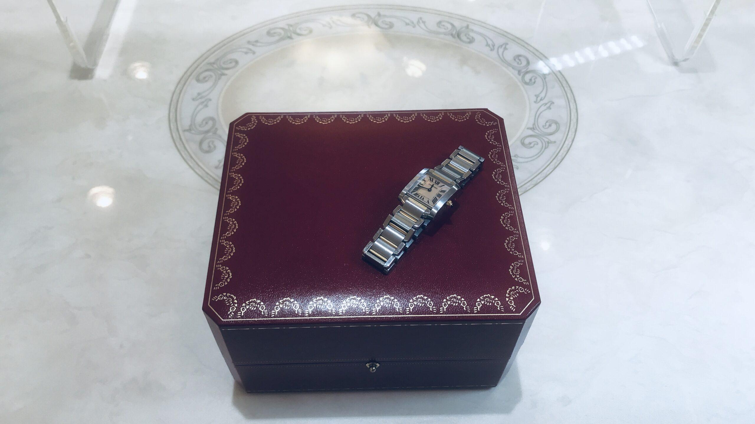 【買取速報】ピンク蝶貝、腕時計、K18YG、ステンレス、Cartier-2020-08-21