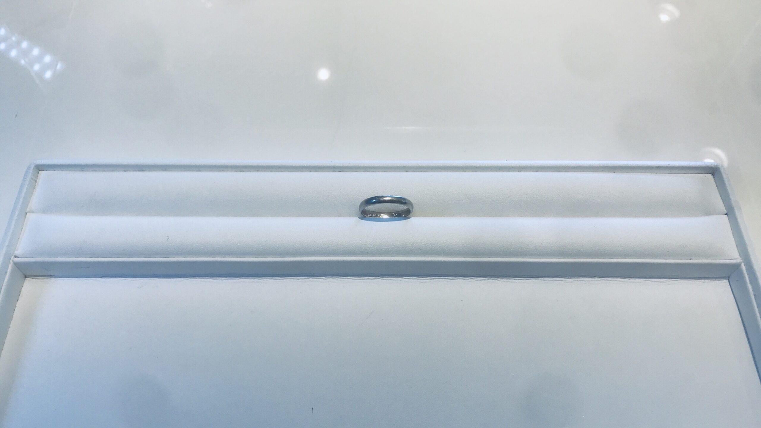 【買取速報】結婚指輪・マリッジリング、PT900-2020-08-29