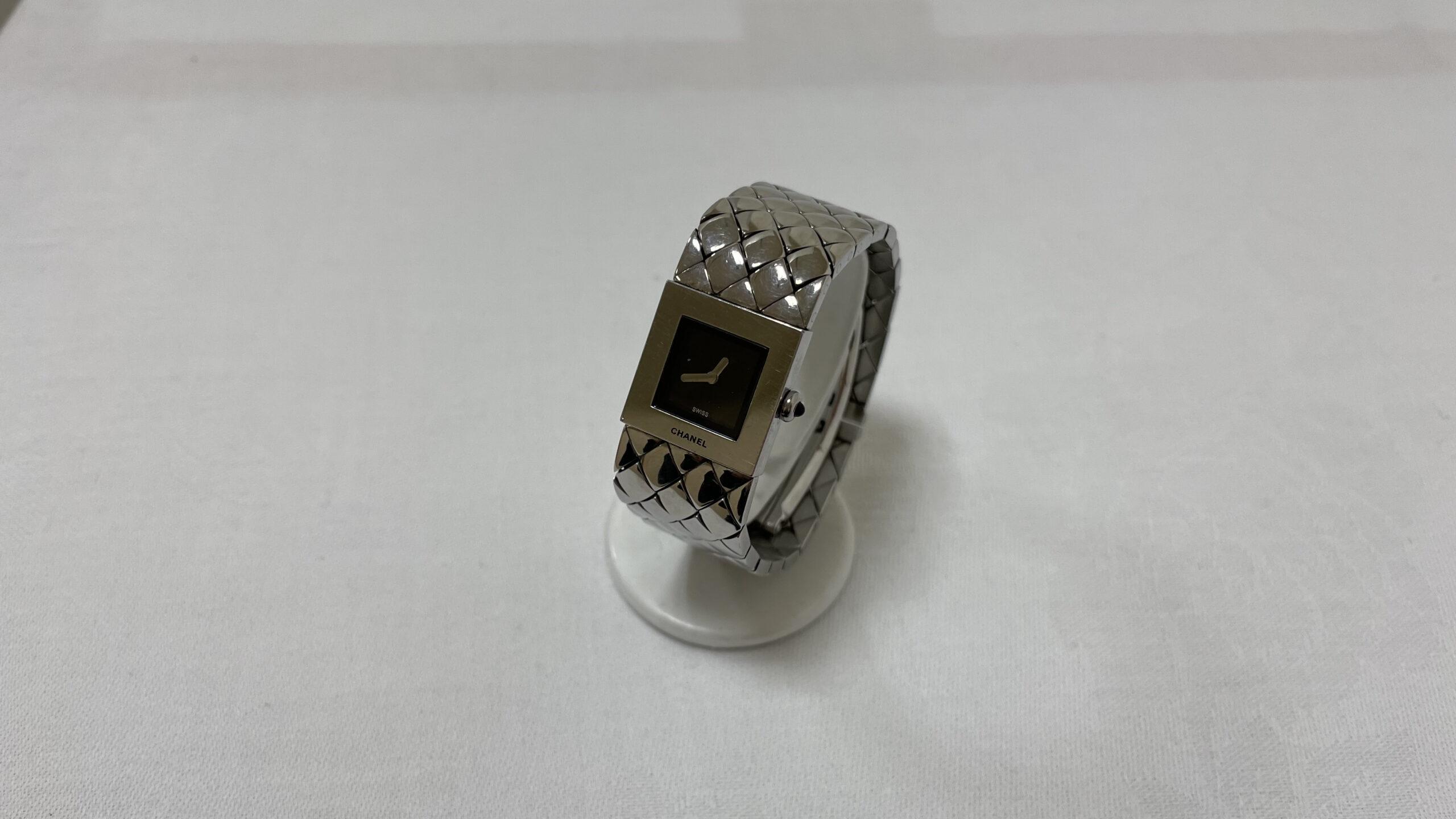 【買取速報】腕時計、ステンレス、CHANEL-2021-02-13
