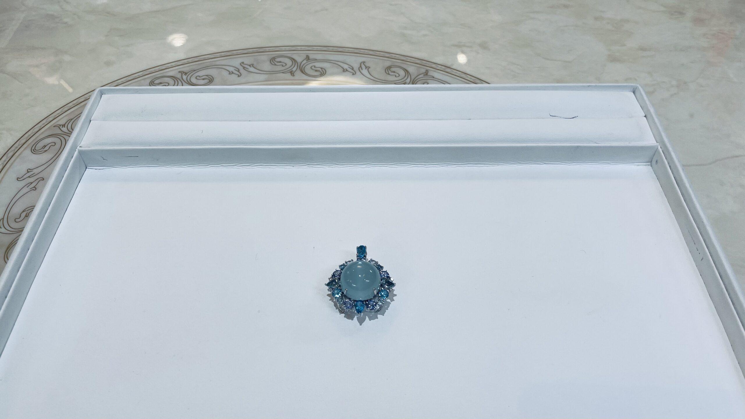 【買取速報】タンザナイト、ダイヤモンド、ブルートパーズ、ミルキーアクアマリン、ペンダントトッ-2021-02-16