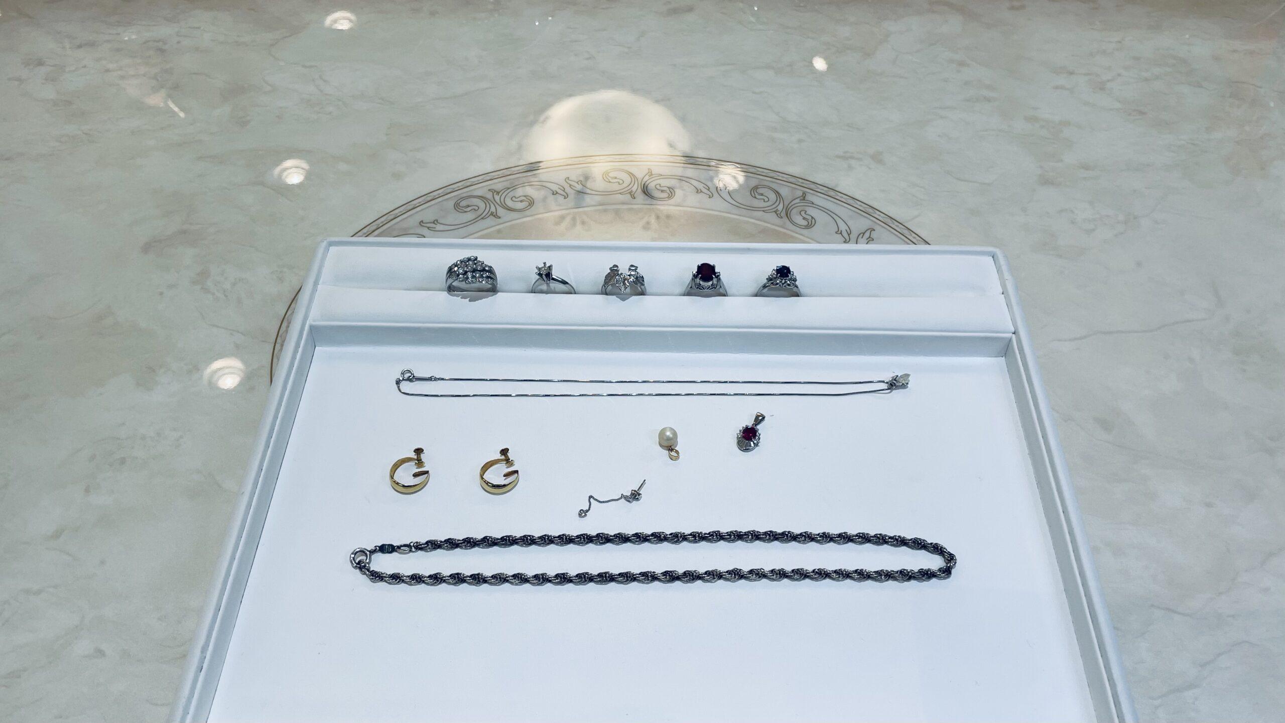 【買取速報】ガーネット、サファイヤ、ダイヤモンド、パール、ネックレス、ピアス・イヤリング、ペ-2021-02-16