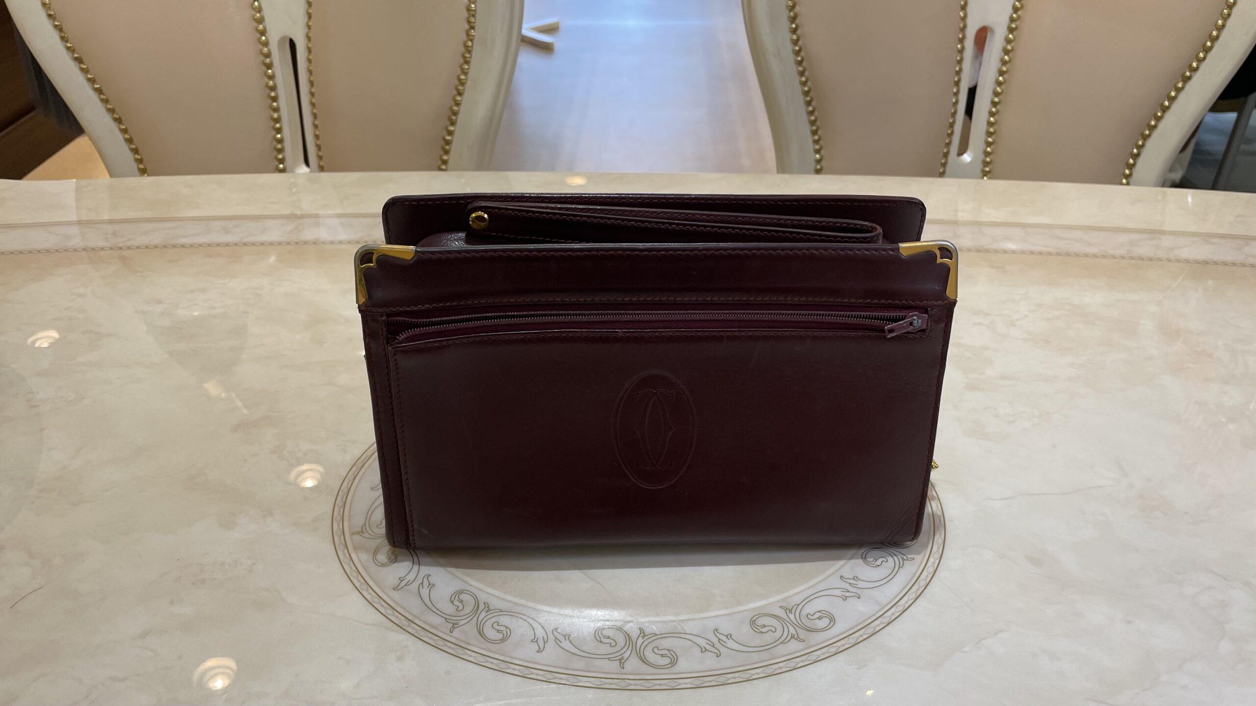 【買取速報】ブランドバッグ、Cartier-2021-03-24
