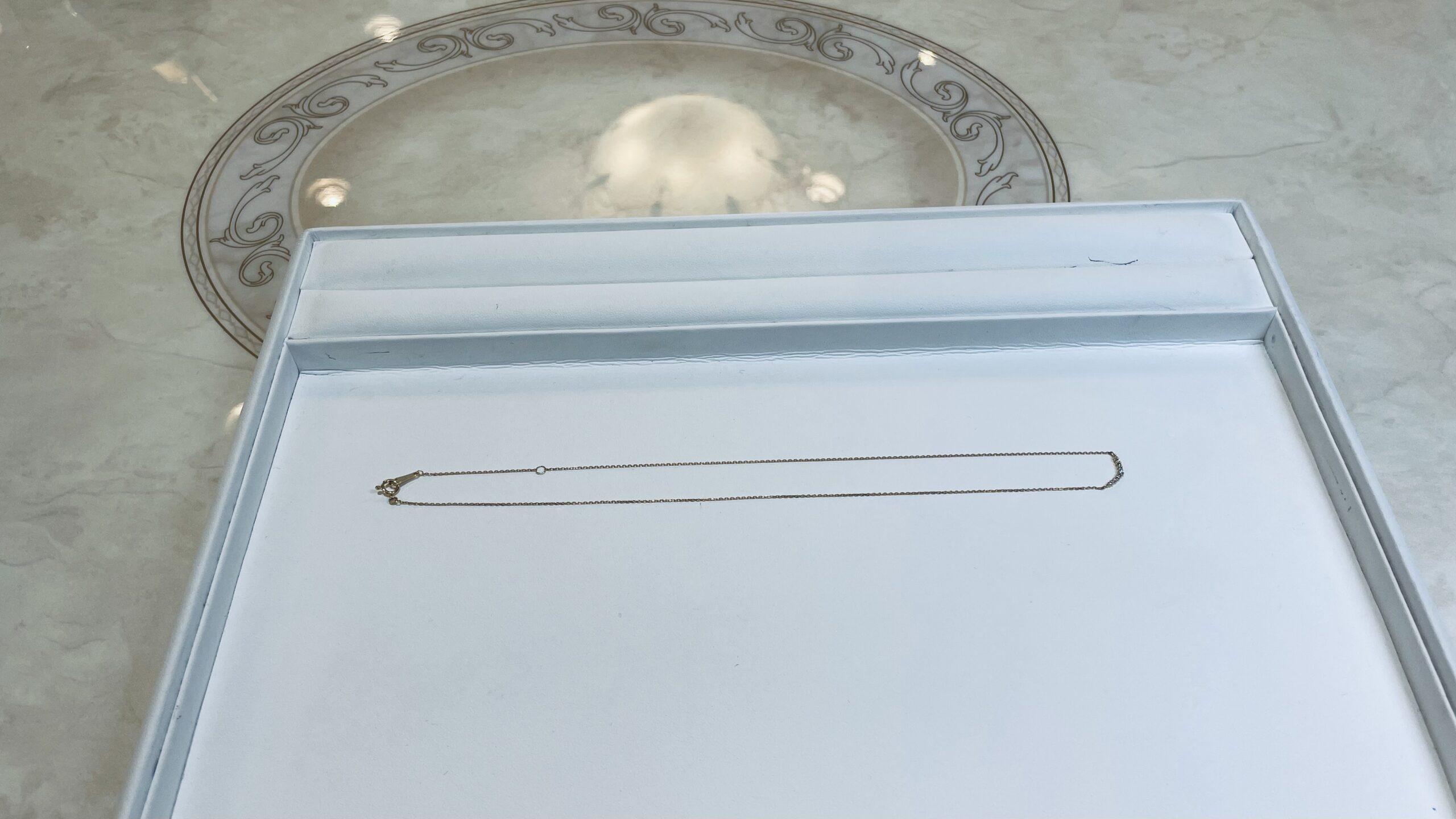 【買取速報】ダイヤモンド、ネックレス、K18YG-2021-03-02