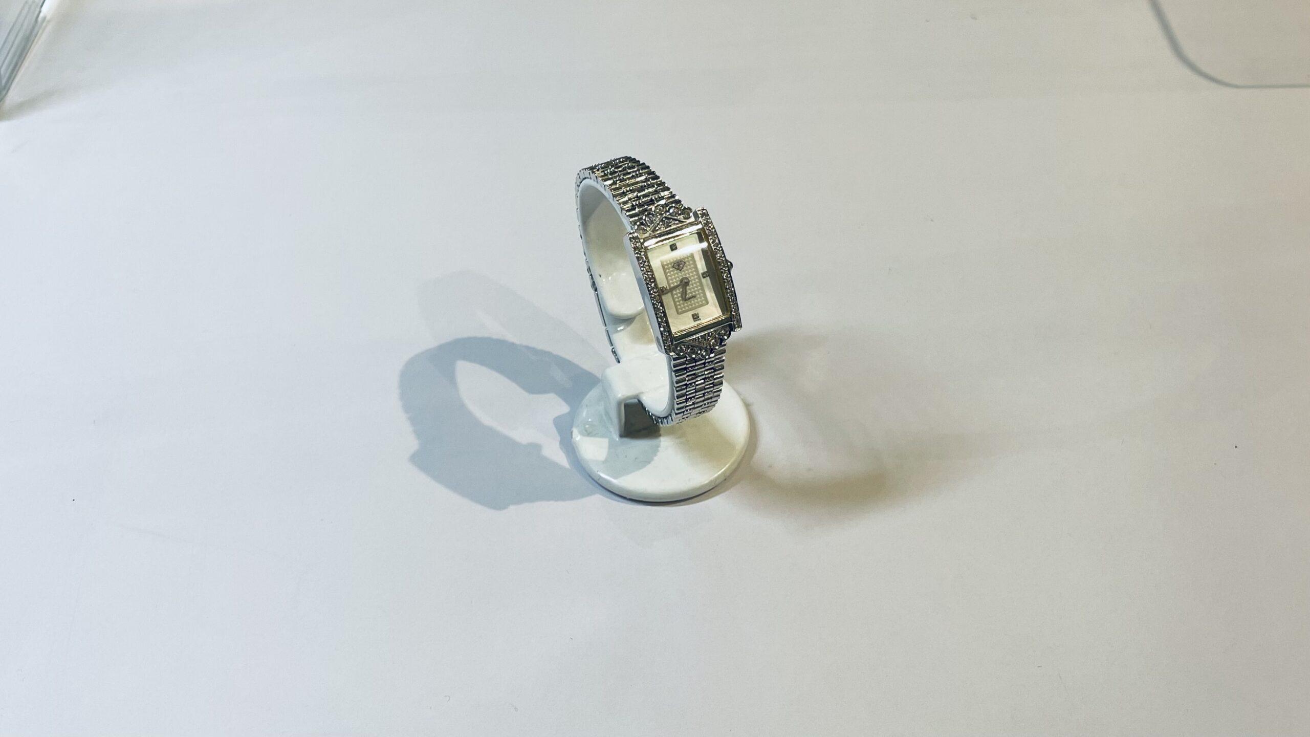 【買取速報】ダイヤモンド、白蝶貝、腕時計、750、CARATI-2021-03-08
