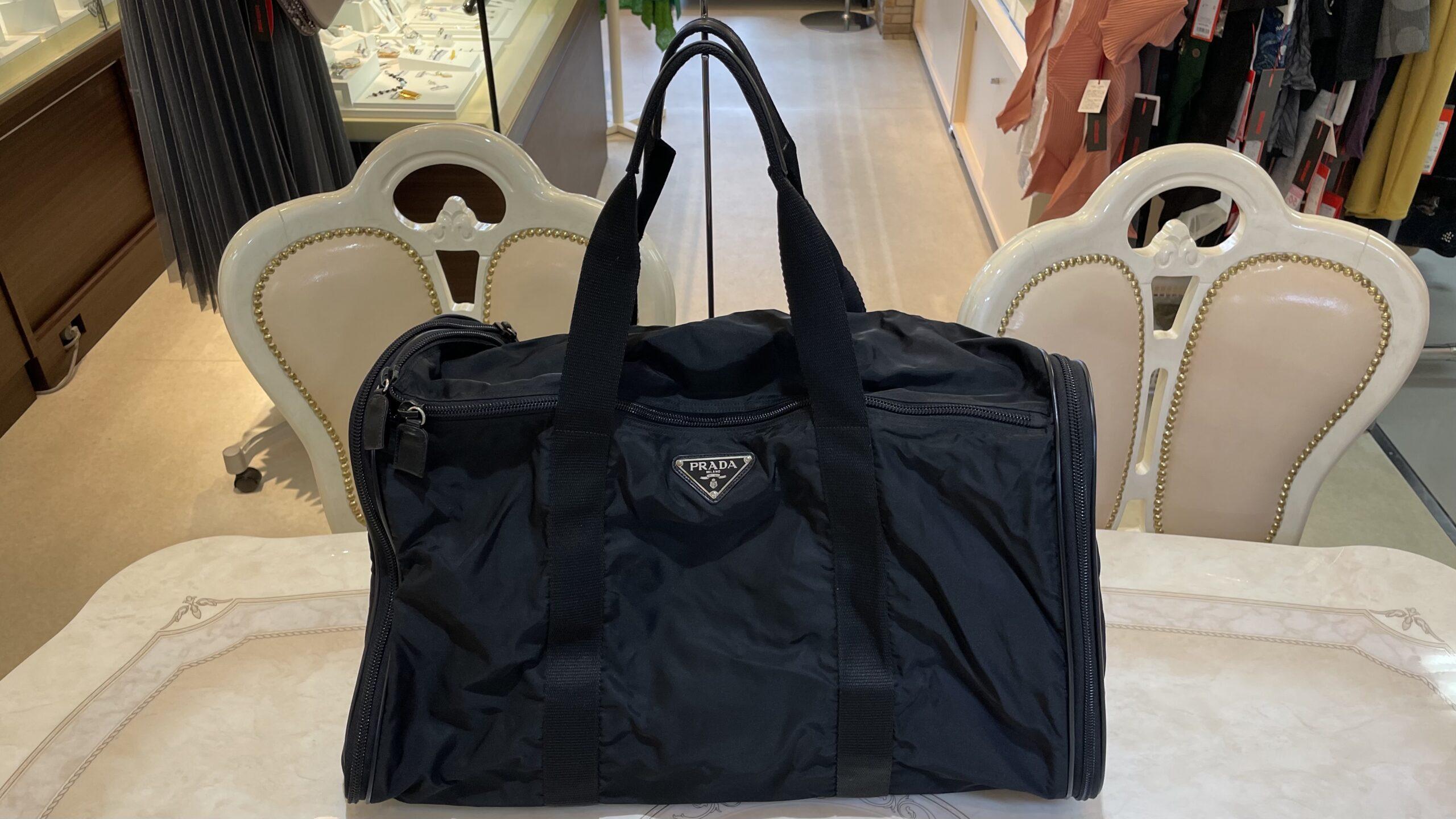 【買取速報】ブランドバッグ、PRADA-2021-03-20