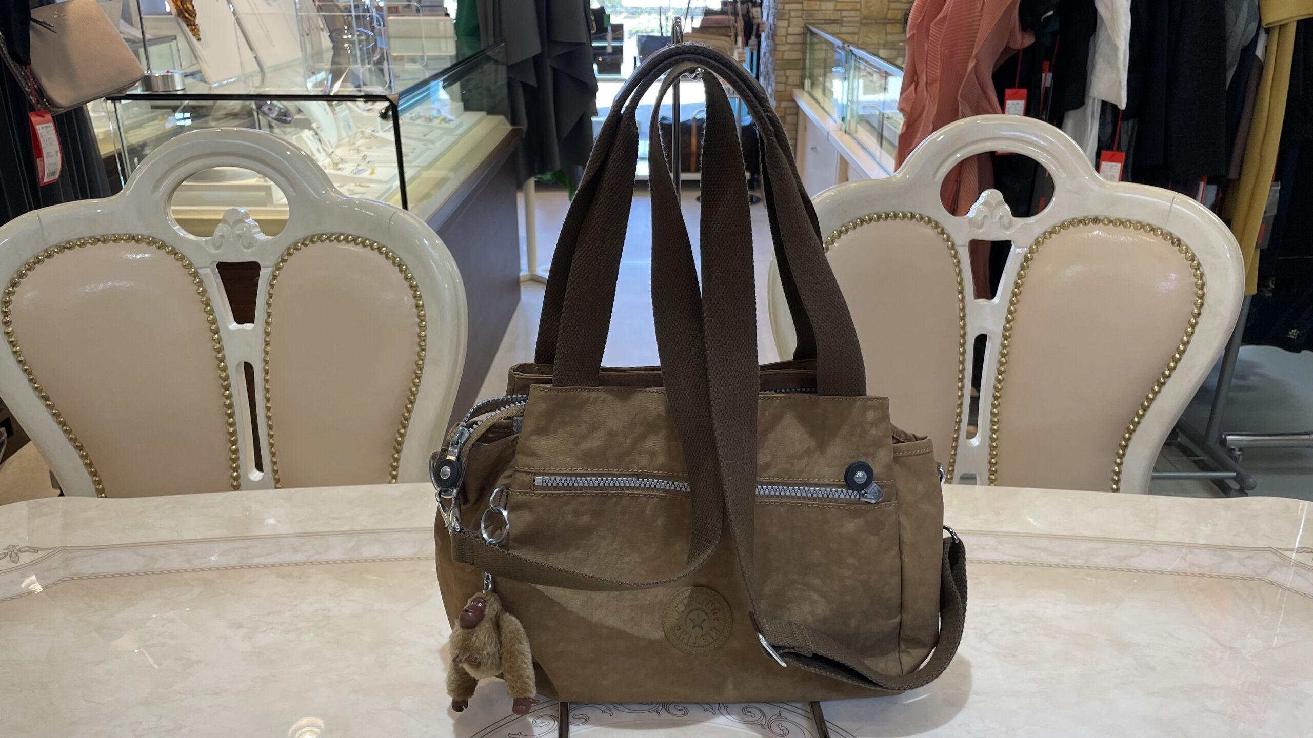 【買取速報】ブランドバッグ、KIPLING-2021-03-31