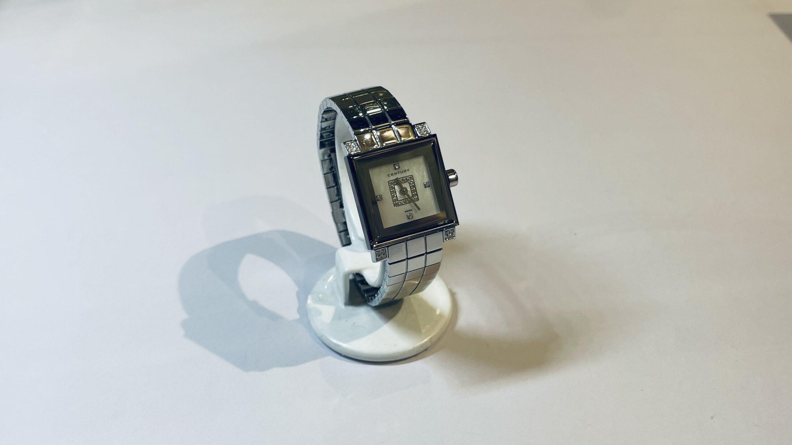 【買取速報】ダイヤモンド、白蝶貝、腕時計、ステンレス、CENTURY-2021-03-08