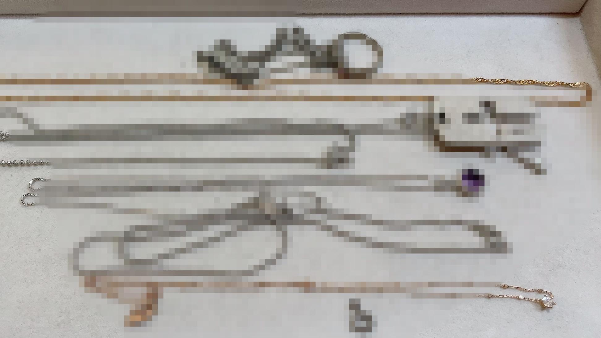 【買取速報】アメジスト、ダイヤモンド、ネックレス、ペンダント、指輪、K10YG、K18WG、K18YG、SV9-2021-04-18