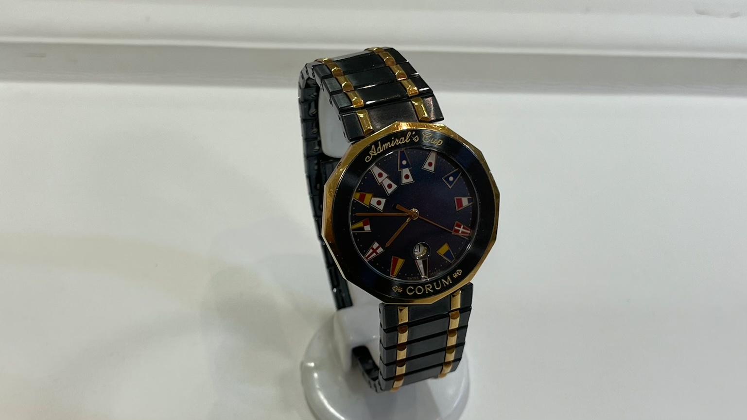 【買取速報】腕時計、ステンレス、CORUM-2021-04-27