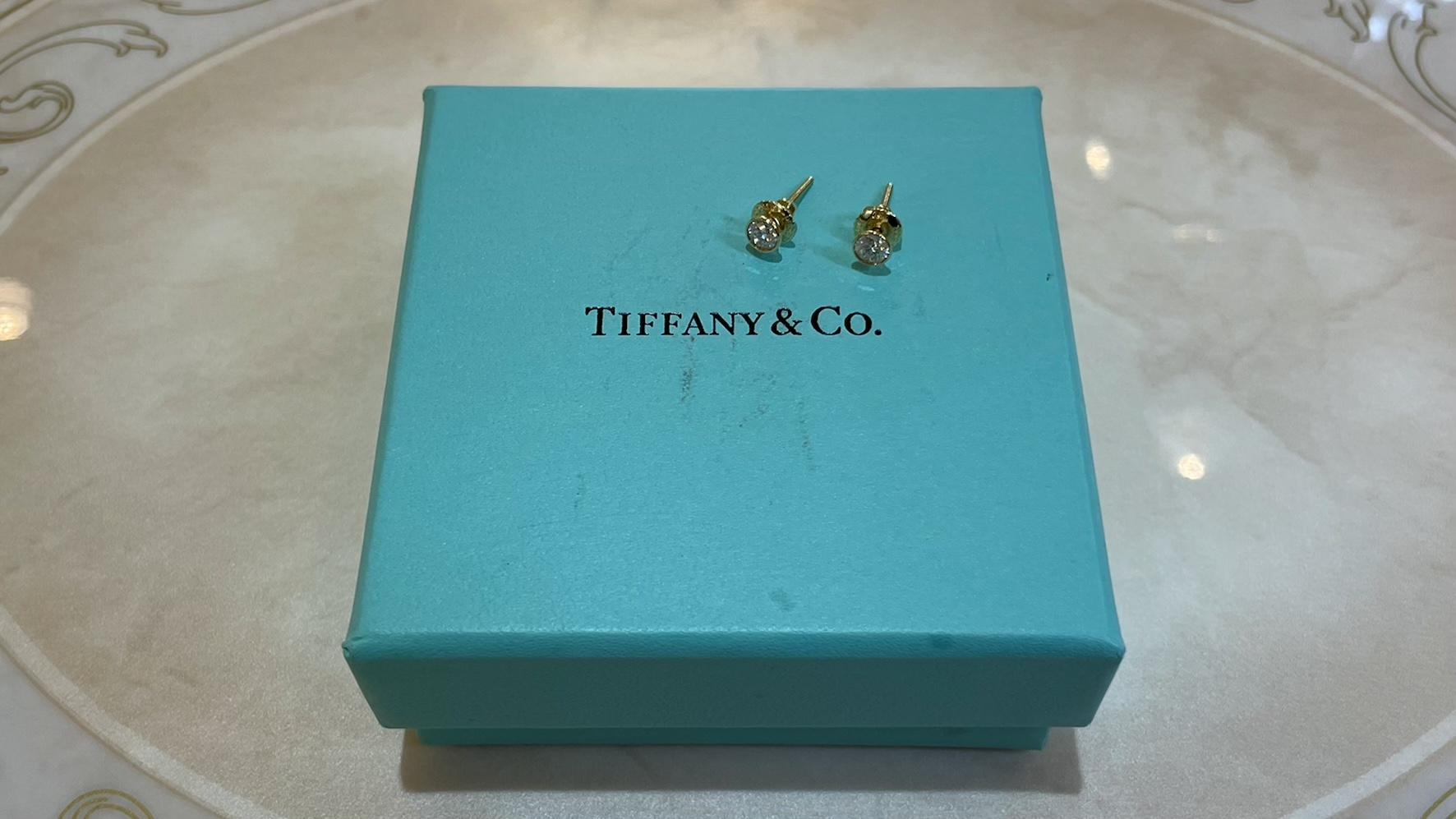 【買取速報】ダイヤモンド、ピアス・イヤリング、750、Tiffany & Co.-2021-04-22