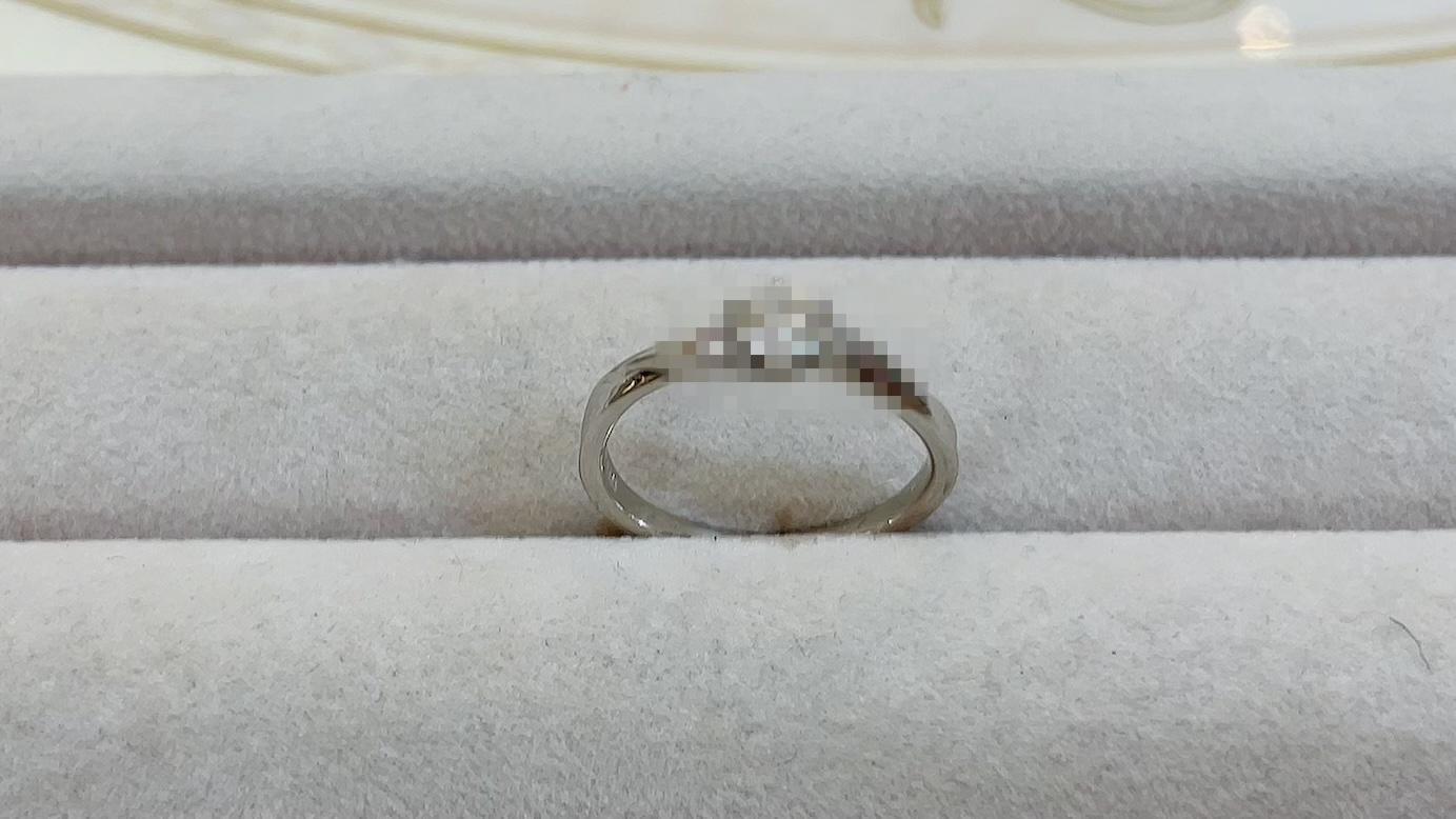【買取速報】ダイヤモンド、婚約指輪・エンゲージリング、PT900-2021-04-10