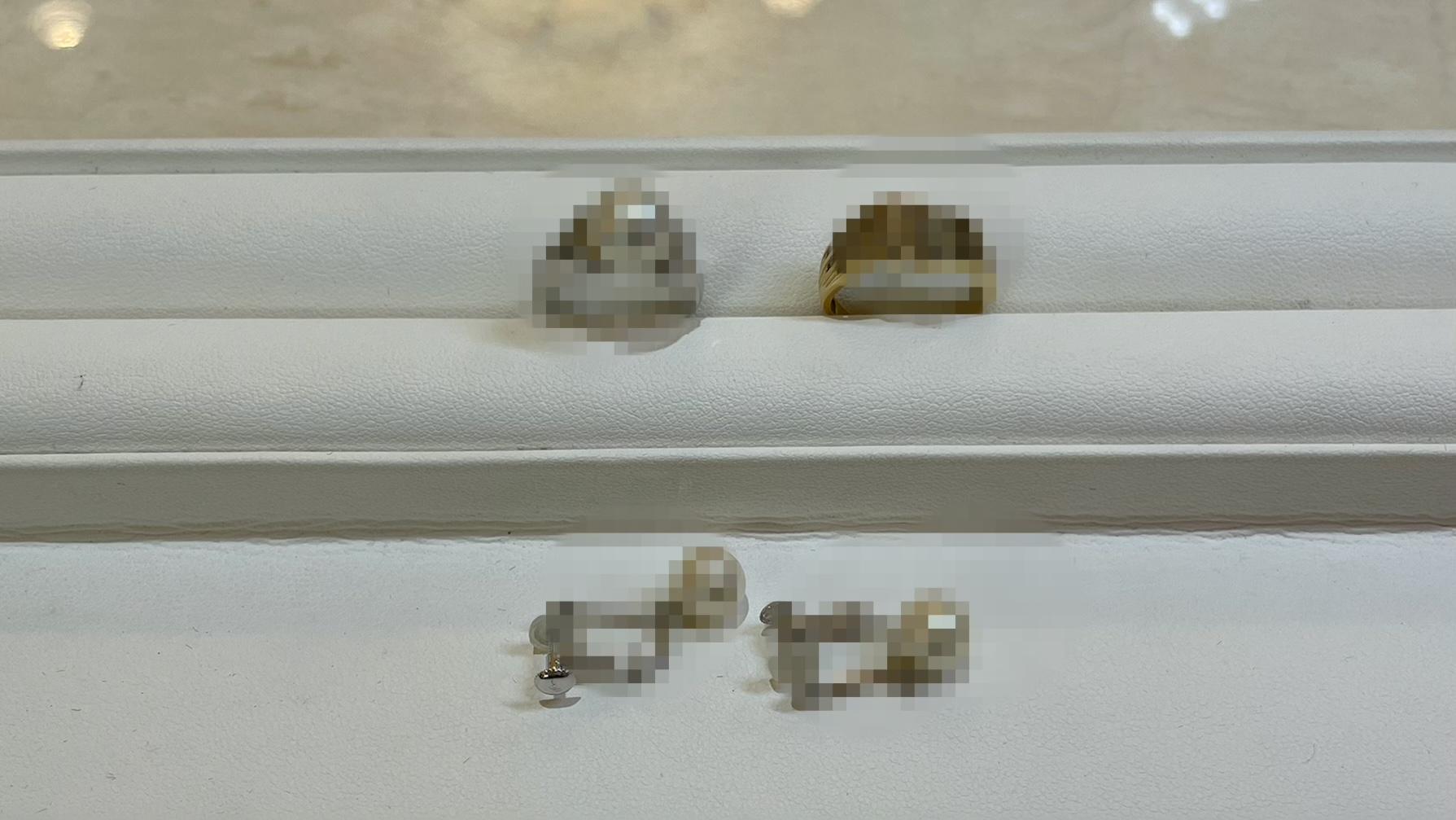 【買取速報】ダイヤモンド、パール、ピアス・イヤリング、指輪、K14WG、K18YG、PT900-2021-04-20
