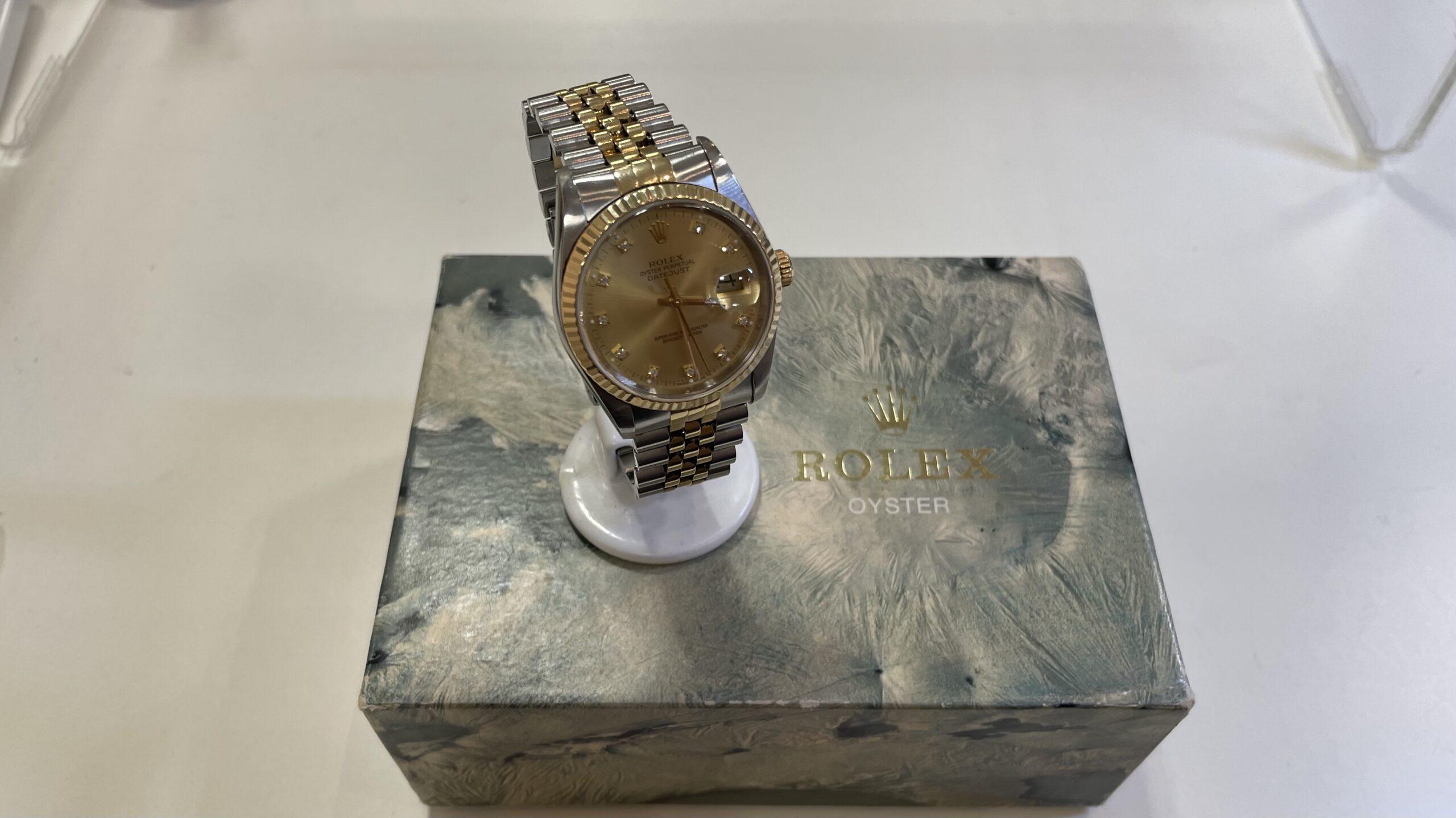 【買取速報】ダイヤモンド、腕時計、750、ステンレス、ROLEX-2021-04-24