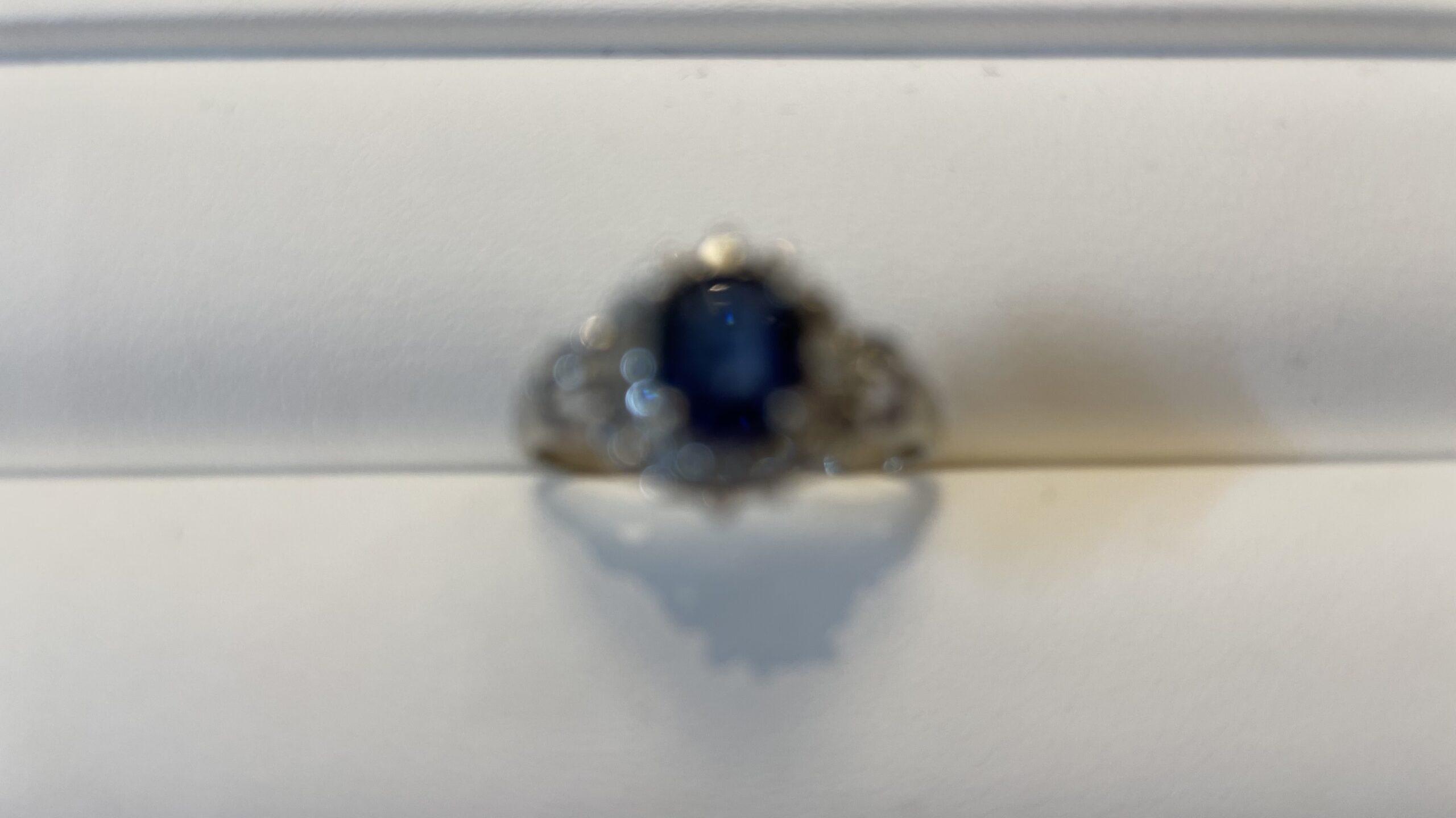 【買取速報】サファイヤ、ダイヤモンド、指輪、PT900-2021-04-09