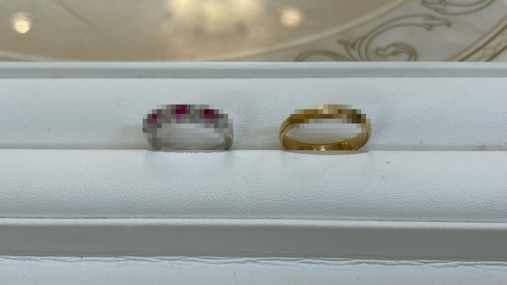 【買取速報】ダイヤモンド、ルビー、指輪、750、PT850-2021-04-30