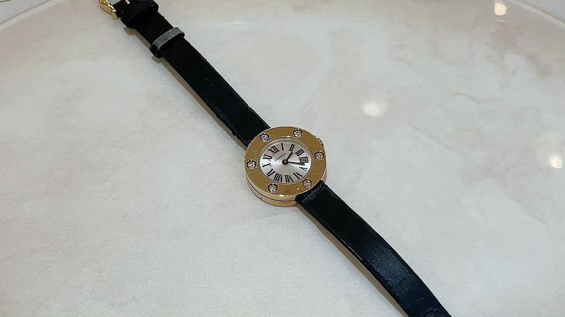 【買取速報】ダイヤモンド、腕時計、750、Cartier-2021-05-20