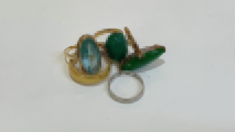 【買取速報】ブルートパーズ、指輪、結婚指輪・マリッジリング、K18YG、K24YG、PT850-2021-05-19