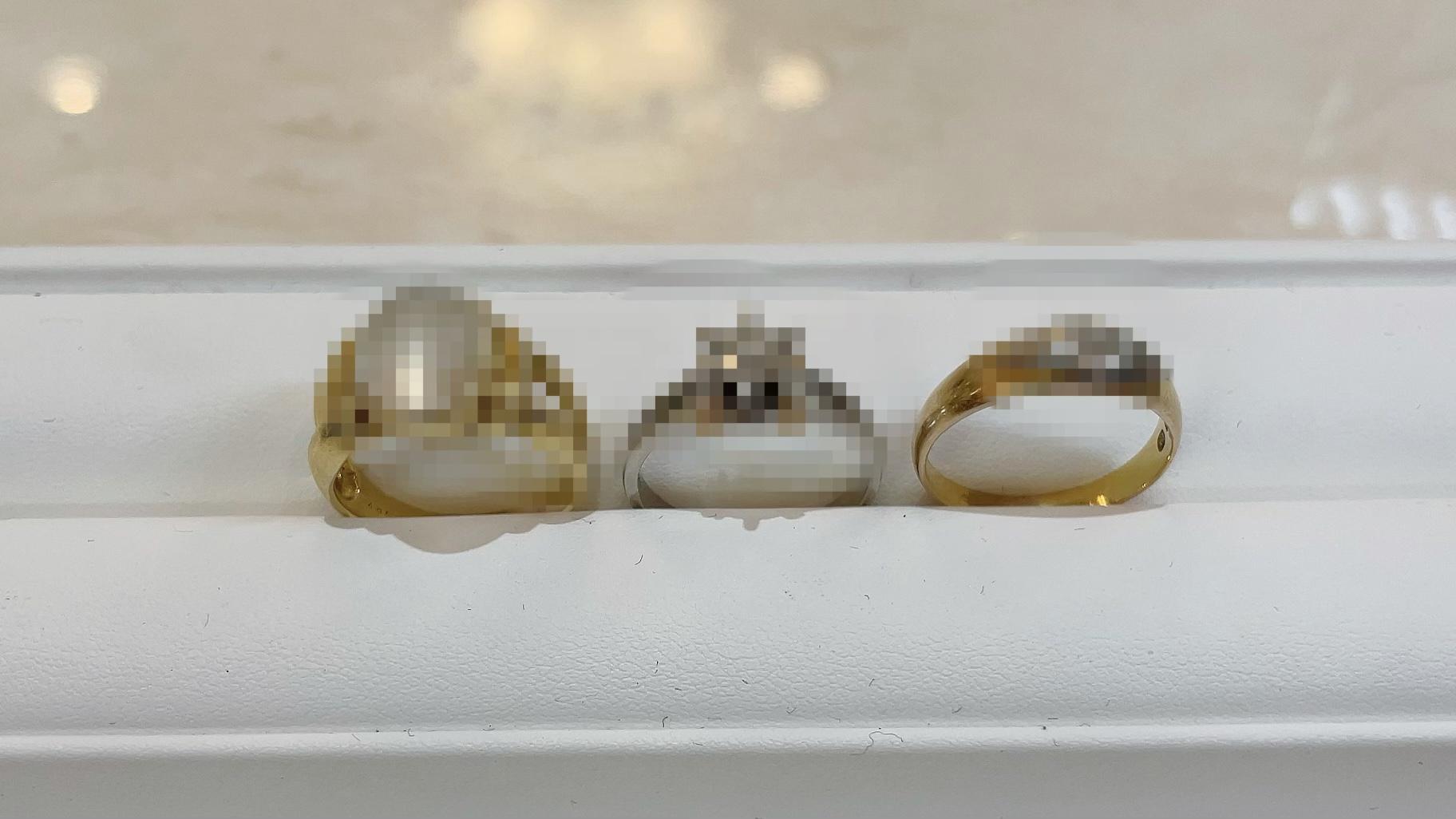 【買取速報】ダイヤモンド、ムーンストーン、婚約指輪・エンゲージリング、指輪、K18YG、PT900-2021-05-07