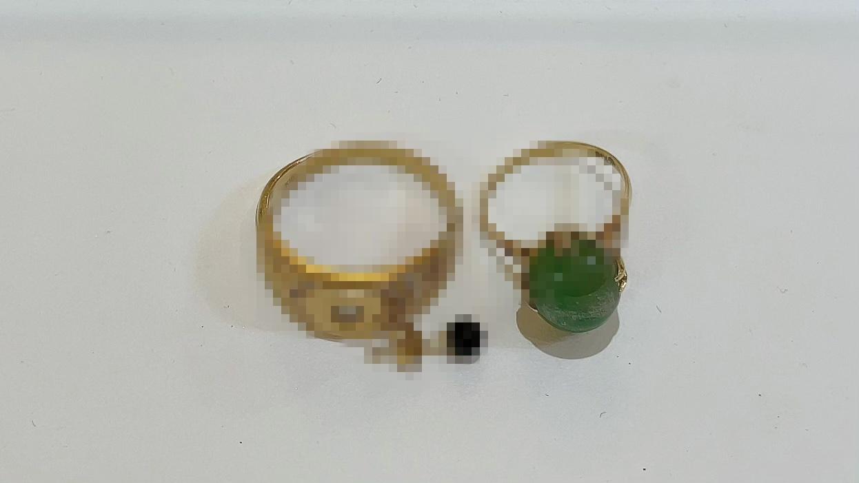 【買取速報】オニキス、ダイヤモンド、ヒスイ、ピアス・イヤリング、指輪、K18YG-2021-05-18