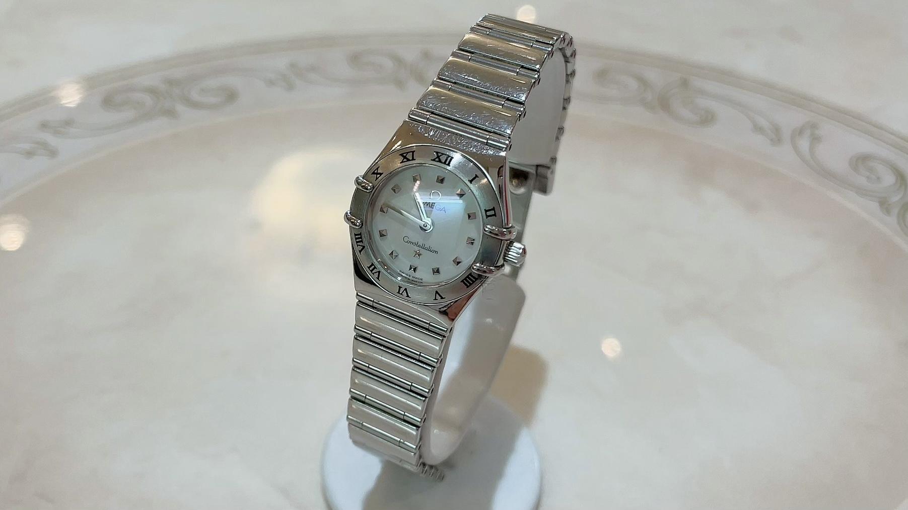 【買取速報】白蝶貝、腕時計、ステンレス、OMEGA-2021-05-22
