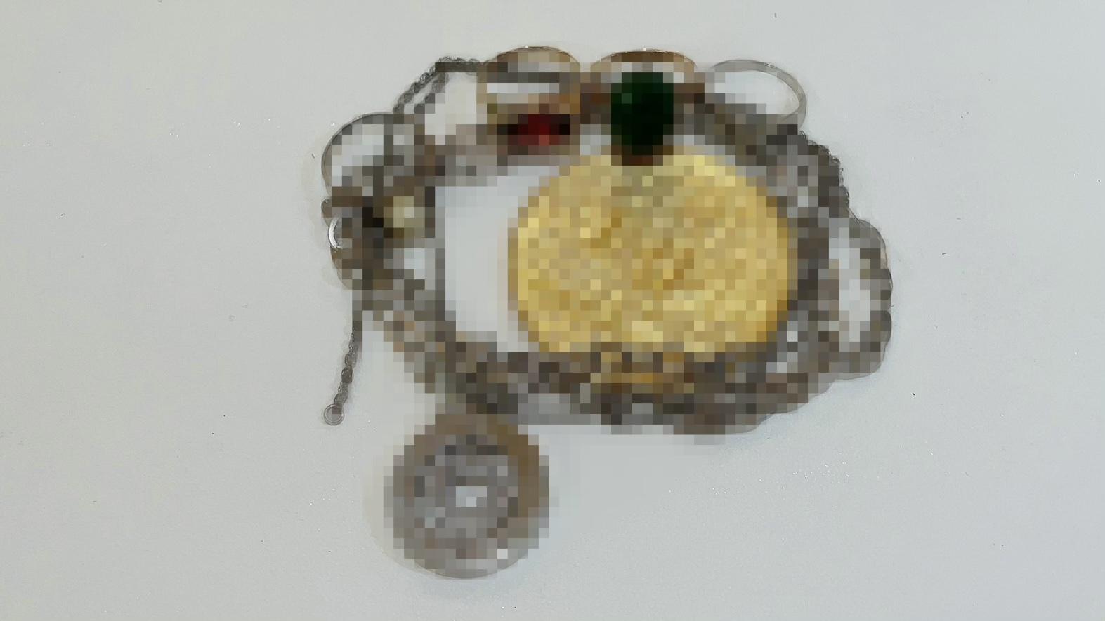 【買取速報】ガーネット、ダイヤモンド、ヒスイ、ネックレス、ペンダント、メダル、指輪、K14YG、K-2021-05-18