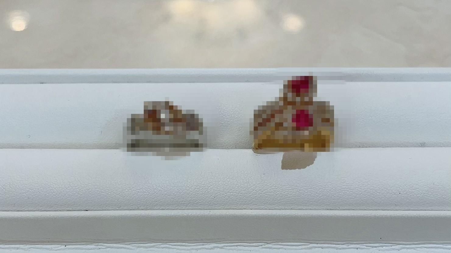 【買取速報】ダイヤモンド、ルビー、指輪、K18YG、PT900-2021-05-09