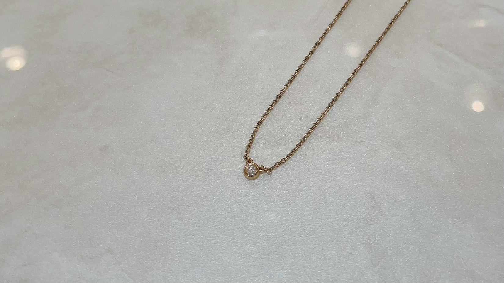 【買取速報】ダイヤモンド、ネックレス、750、Tiffany & Co.-2021-05-09