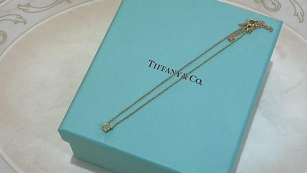 【買取速報】イエローダイヤ、ダイヤモンド、ネックレス、750、Tiffany & Co.-2021-05-21