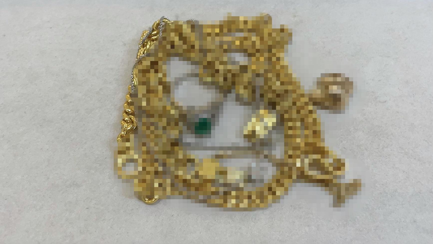 【買取速報】エメラルド、ダイヤモンド、ネックレス、ブレスレット、ペンダント、指輪、金歯、K18Y-2021-05-11