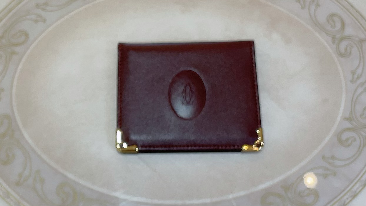 【買取速報】カードケース、Cartier-2021-06-06