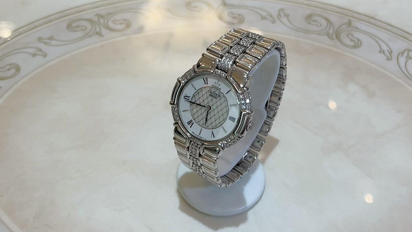【買取速報】ダイヤモンド、腕時計、K18YG、CREDOR、SEIKO-2021-06-02