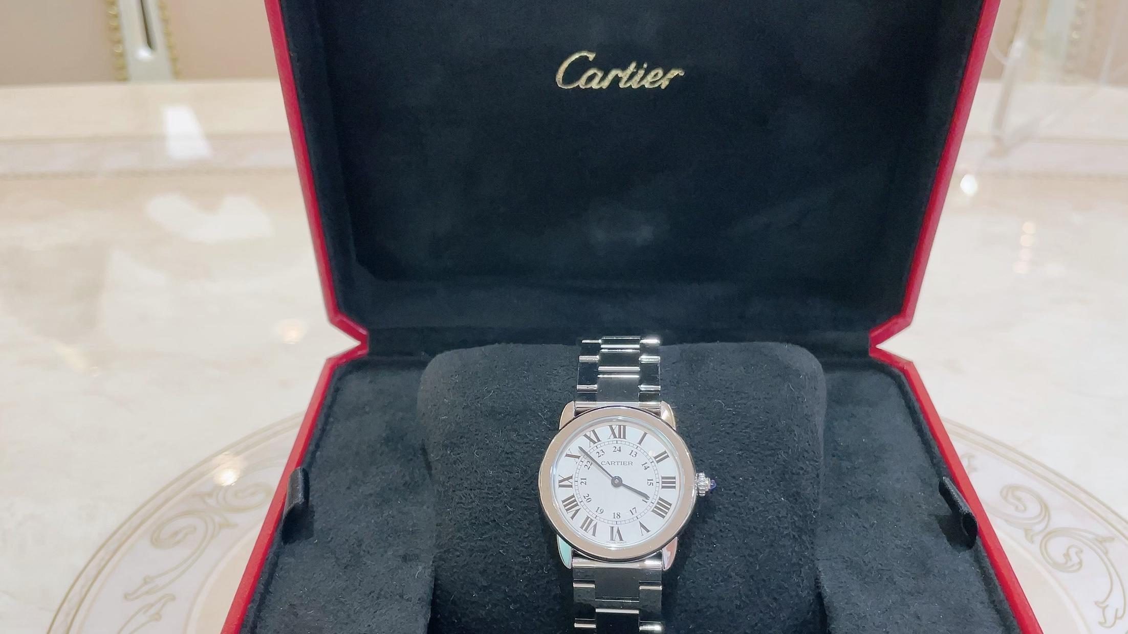 【買取速報】腕時計、ステンレス、Cartier-2021-06-04