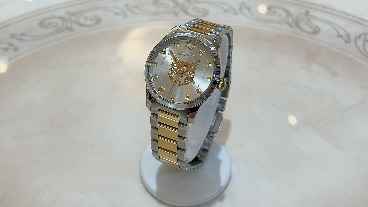 【買取速報】腕時計、ステンレス、GUCCI-2021-06-04