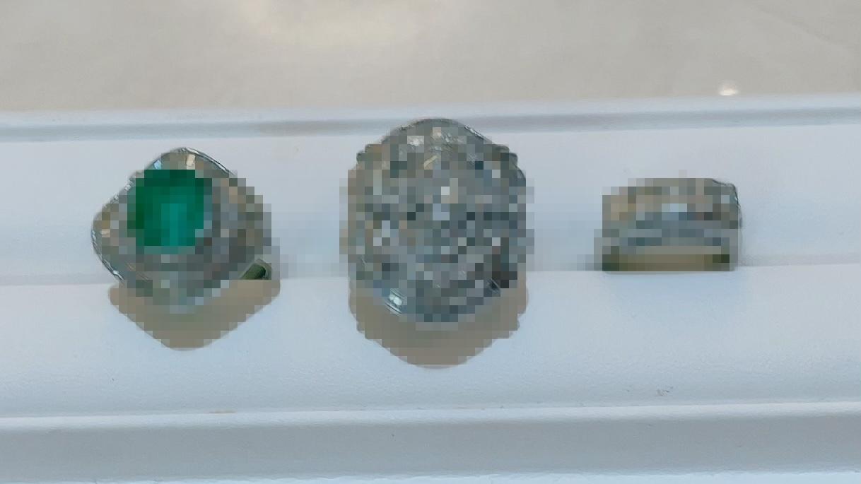 【買取速報】エメラルド、ダイヤモンド、指輪、PT900-2021-06-25