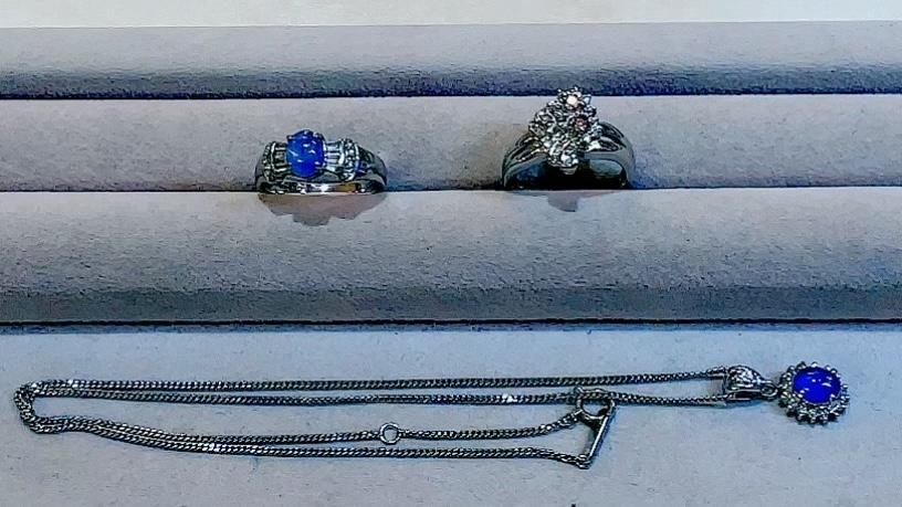 【買取速報】スターサファイヤ、ダイヤモンド、ピンクダイヤモンド、ペンダント、指輪、PT850、PT9-2021-07-22