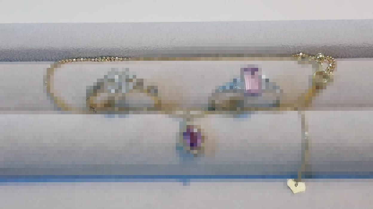 【買取速報】ダイヤモンド、パープルサファイヤ、ピンクトパーズ、ペンダント、指輪、K18YG、PT900-2021-07-10