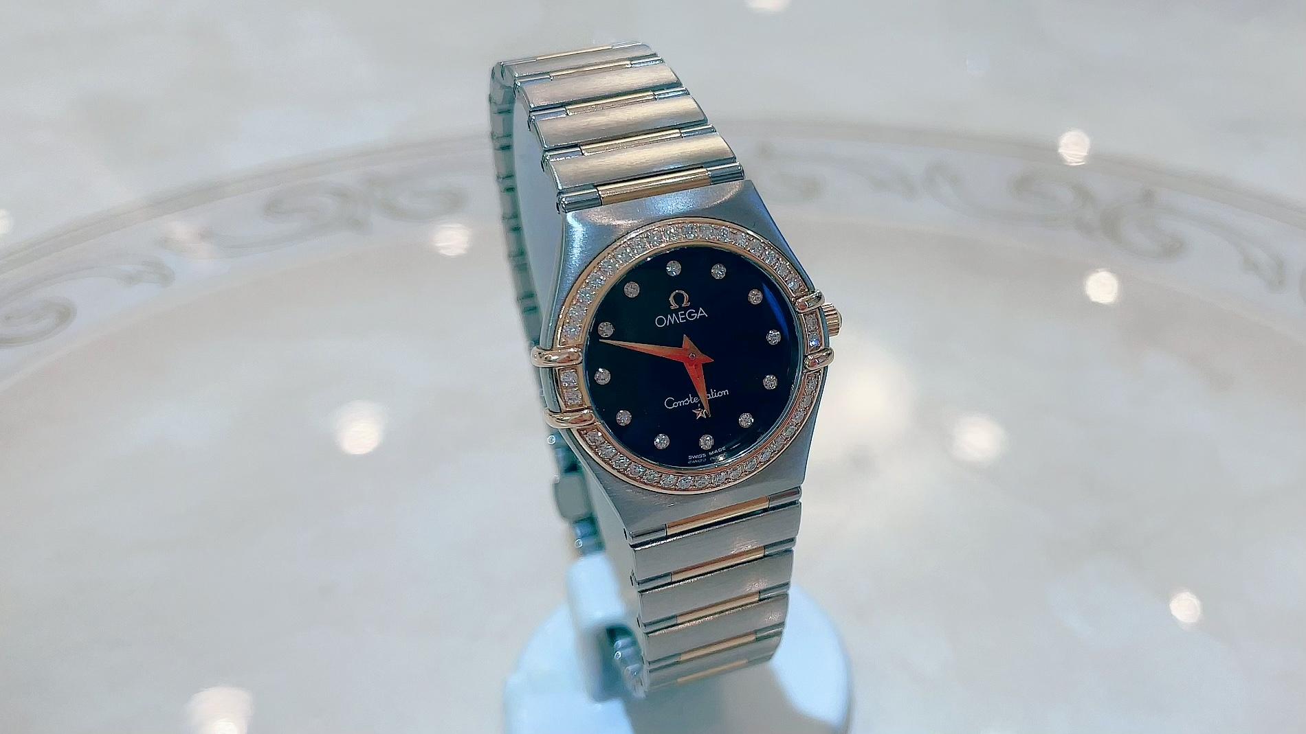 【買取速報】ダイヤモンド、腕時計、K18YG、ステンレス、OMEGA-2021-07-22