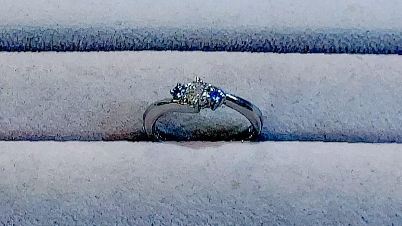 【買取速報】ダイヤモンド、ブルーダイヤ、婚約指輪・エンゲージリング、指輪、PT950-2021-07-23