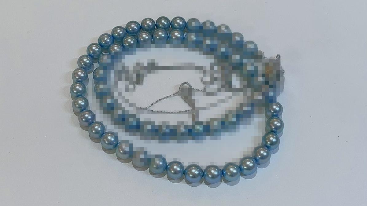 【買取速報】グレーパール、ダイヤモンド、チョーカー、ネックレス、ペンダント、K10WG、SV925-2021-07-04