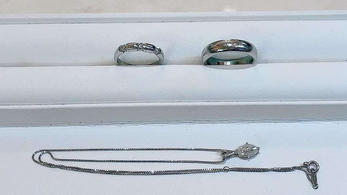 【買取速報】ダイヤモンド、ペンダント、指輪、PT850、PT900-2021-07-22