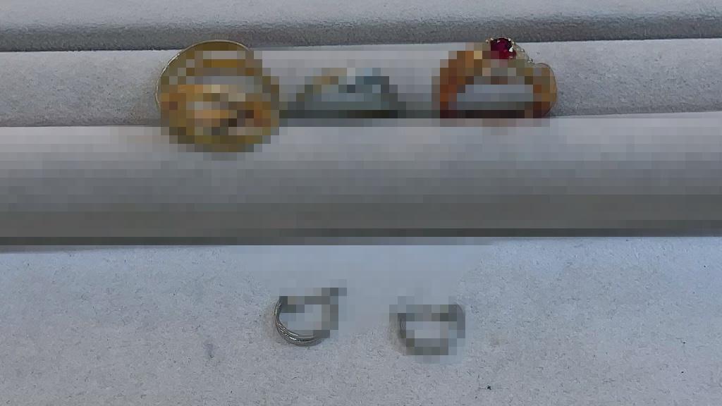 【買取速報】ダイヤモンド、ルビー、ピアス・イヤリング、指輪、K14WG、K18YG、PT900-2021-07-18