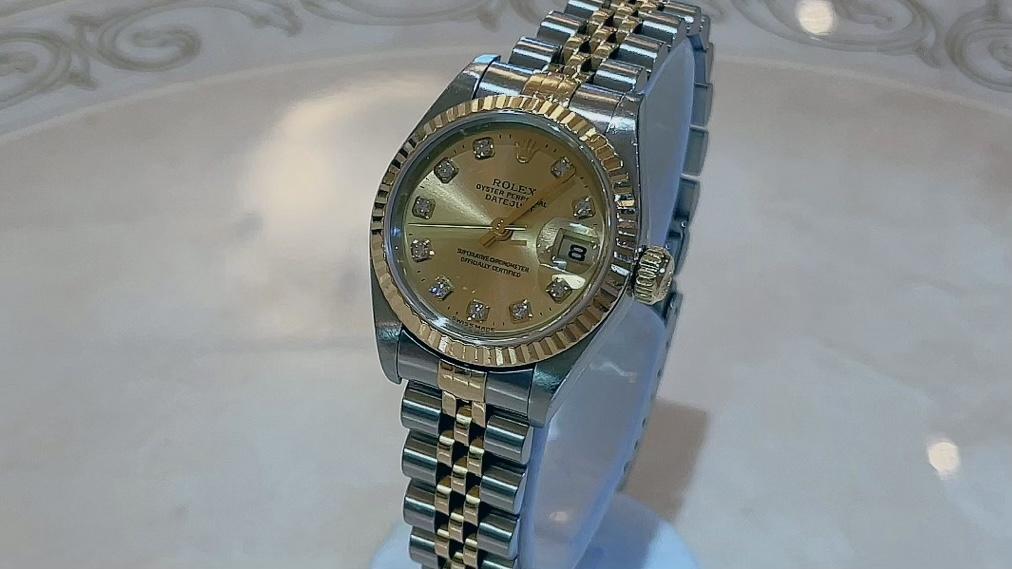 【買取速報】ダイヤモンド、腕時計、K18YG、ステンレス、ROLEX-2021-08-27