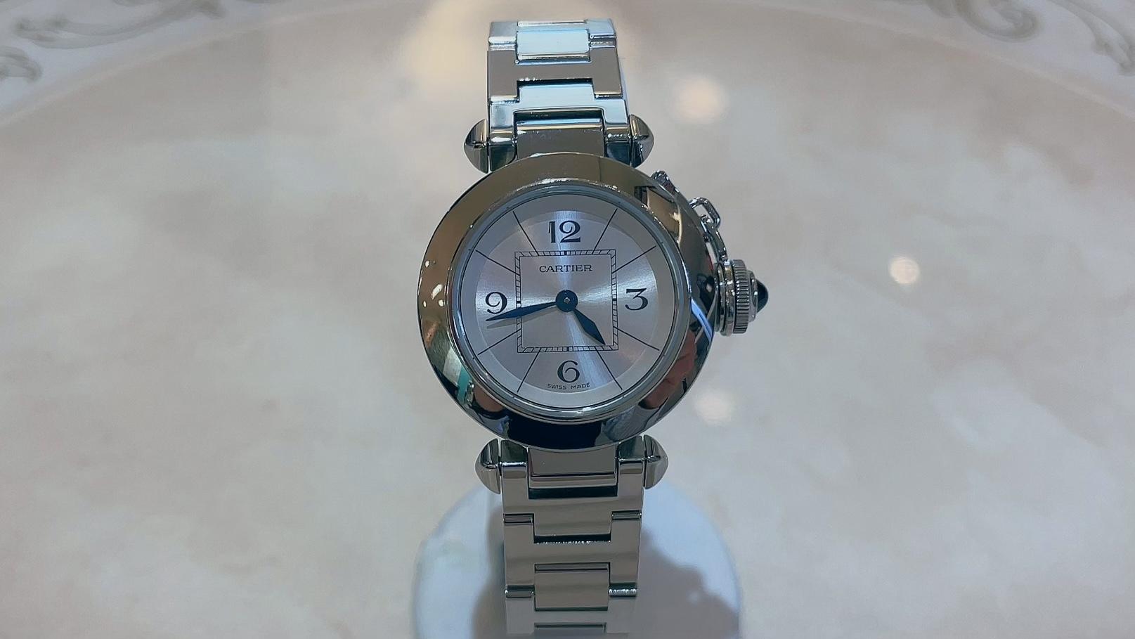 【買取速報】腕時計、ステンレス、Cartier-2021-08-06