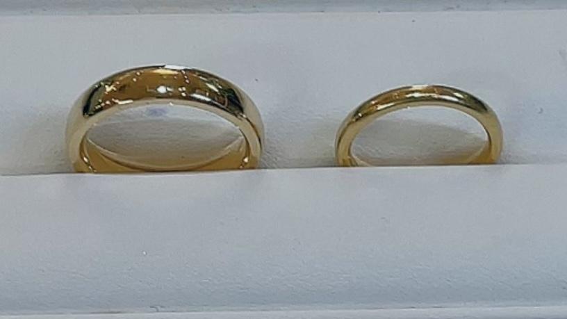 【買取速報】ダイヤモンド、指輪、結婚指輪・マリッジリング、K18YG-2021-08-31