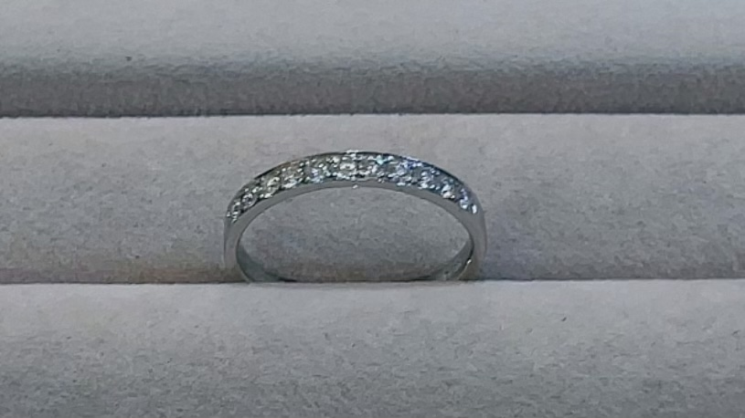 【買取速報】ダイヤモンド、指輪、K18WG-2021-08-29