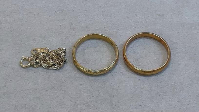 【買取速報】ネックレス、指輪、結婚指輪・マリッジリング、K18YG-2021-08-05
