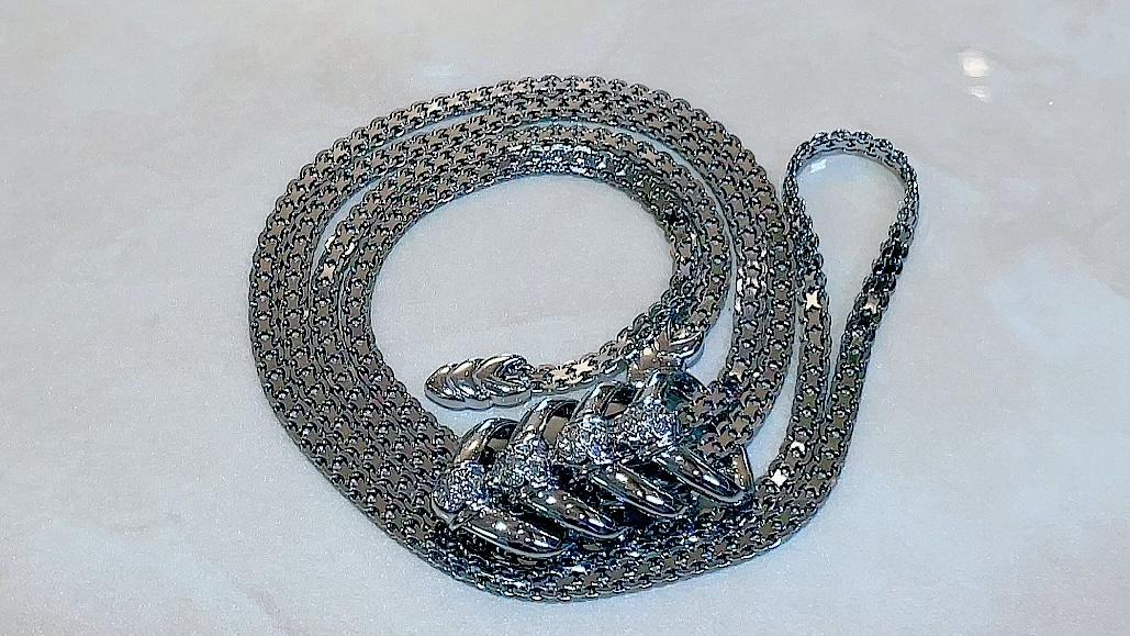 【買取速報】ダイヤモンド、ネックレス、K18WG-2021-08-28
